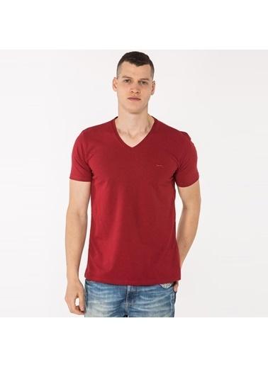 Slazenger Slazenger SAVAS Erkek T-Shirt  Bordo